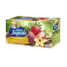 Babcia Jagoda - Vanilla Flavour Strawberry Tea 20x2g