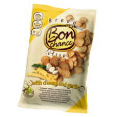 Bon Chance - Bread Crisps with Garlic and Cheese 120g