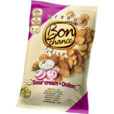 Bon Chance - Bread Crisps with Sour Cream and Onion 120g