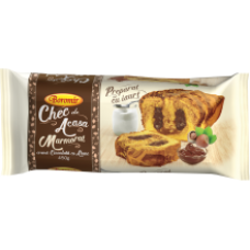 Boromir - Marbled Cake with Hazelnuts Cream / Chec cu Crema Ciocolata cu Alune 450g