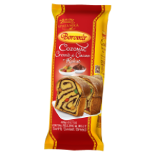 Boromir - Sponge-Cake with Cocoa & Jelly / Cozonac Crema de Cacao si Rahat 400g
