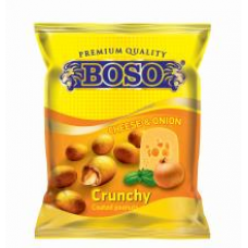 Boso - Coated Cheese & Onion Flavor Peanuts Snack 70g