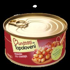 Bunatati de Topoloveni - Beans with Bacon / Fasole Costita 400g
