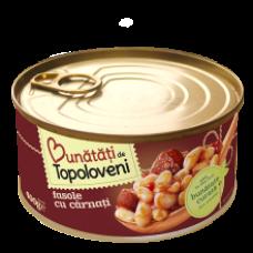 Bunatati de Topoloveni - Beans with Sausages / Fasole Carnati 400g