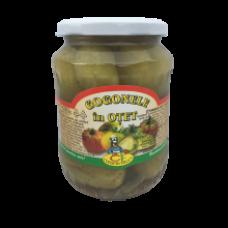 Conservfruct - Green Tomatoes in Vinegar / Gogonele in Otet 680g