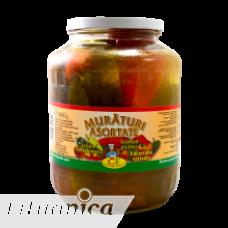 Conservfruct - Mixed Vegetables in Brine / Muraturi Asortate 1.6kg