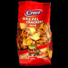 Croco - Mix Crackers & Brezel 250g