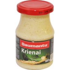 Daumantu - Horseradish 180g