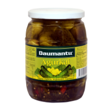 Daumantu - Pickled Cucumbers 680g
