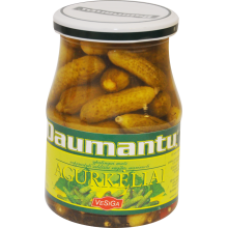 Daumantu - Pickled Gherkins 340g