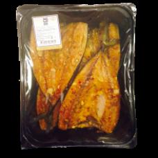 Dauparu Zuvis - Hot Smoked Atlantic Mackerel Flaps 2kg