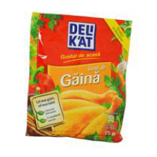 Delikat - Spices with Chicken Flavour / Condimente Aroma Pui 75g