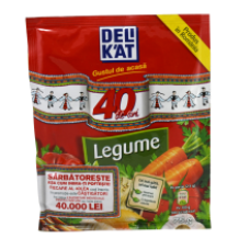 Delikat - Seasoning Mix with Vegetables / Condimente Legume 75g