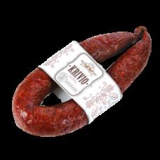 Delikatesas - Krivio Hot Smoked Sausage kg (~400g)