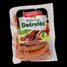 Delikatesas - Medziotoju Hot Smoked Sausages kg (~500g)