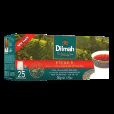 Dilmah - Premium Black Tea 25x2g