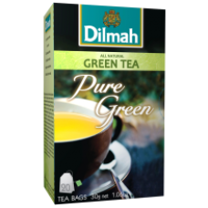 Dilmah - Pure Green Tea 20x1.5g