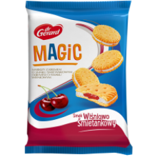 Dr Gerard - Magic Cookies with Cream & Cherry Filling 235g
