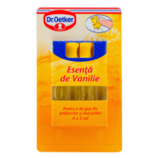 Dr. Oetker - Essence Vanilla / Esenta Vanilie 4*2ml