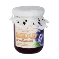 E. Augustinavicius - Honey with Blueberries 150g