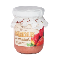 E. Augustinavicius - Honey with Strawberries 150g