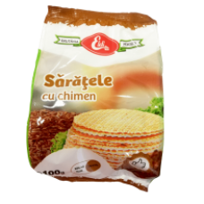 Eldi - Caraway Crackers / Saratele cu chimen 100g