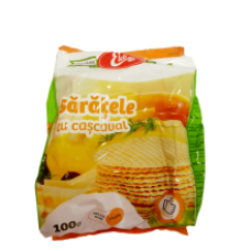 Eldi - Cheese Crackers / Saratele cu cascaval 100g