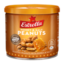 Estrella - Roasted Peanuts with Honey and Salt 140g