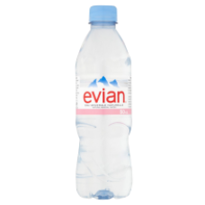 Evian Still Water 500ml Pet