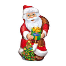 Figaro - Santa Claus Milk Chocolate Figure 110g