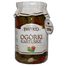 Frutico - Kartuskie Pickled Cucumbers 900ml