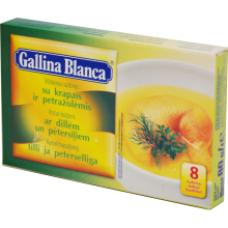 Gallina Blanca - Chicken Stock with Dill 80g
