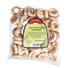 Mario - Glazed Wheat Bagels with Vanilla 250g