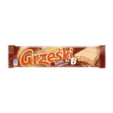 Grzeski - Milk Chocolate Wafer Bar with Cocoa Cream 26g