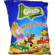 Gusto - Super Surprise Puffy Snacks / Pufuleti cu Surprize 60g