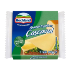 Hochland - Cheddar Cream Cheese Slices / Branza Topita Felii Cascaval 140g