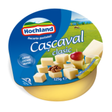 Hochland - Cheddar Round Classic Cheese / Cascaval Clasic 325g