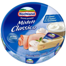 Hochland - Cheese Triangles Mixtett Classico / Branza Topita Triunghi Mixtett Classico 140g