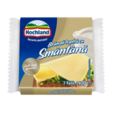 Hochland - Cream Cheese Slices / Branza Topita Felii Smantana 140g