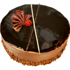 Home Foods - Cherry & Chocolate Cake (Frozen) ~1kg