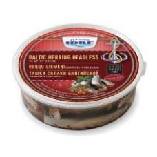 Irbe - Baltic Herring Headless in Spicy brine 500g