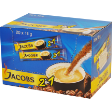 Jacobs - 2in1 Instant Coffee 20x14g