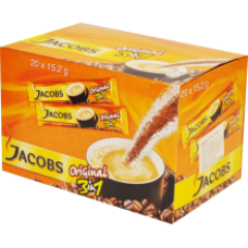 Jacobs - 3in1 Instant Coffee 20x15.2g