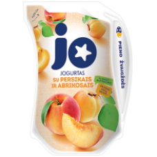 JO - Yogurt with Peaches and Apricots 900g