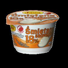 Jana - Sour Cream 18% Fat 200g