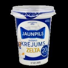 Jaunpils - Sour Cream 20% Fat 400g
