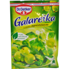 Dr. Oetker - Gooseberry Flavour Jelly 75g