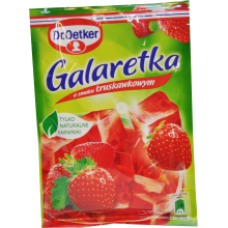 Dr. Oetker - Strawberry Flavour Jelly 75g
