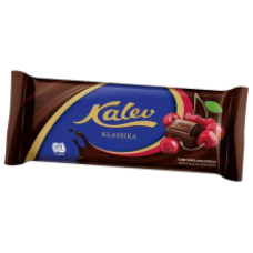 Kalev - Dark Chocolate with Cherries 100g