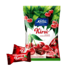 Kalev - Kirsi Cherry Flavour Jelly Sweets 175g